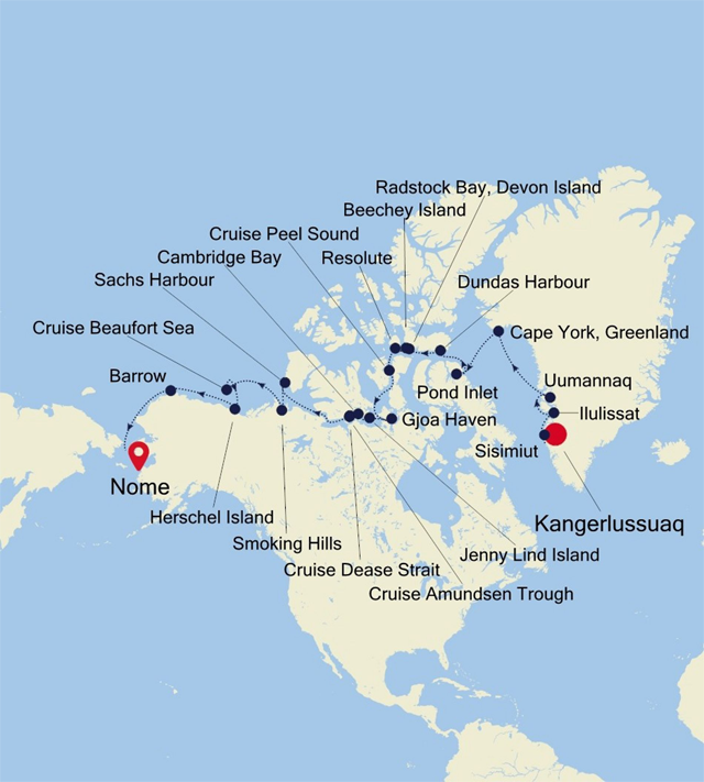 Expedition Voyages - Antarctica Cruise - Norway Cruise ...